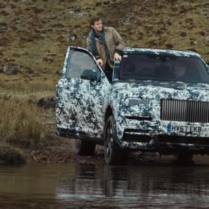 Le Rolls-Royce Cullinan sait se mouiller
