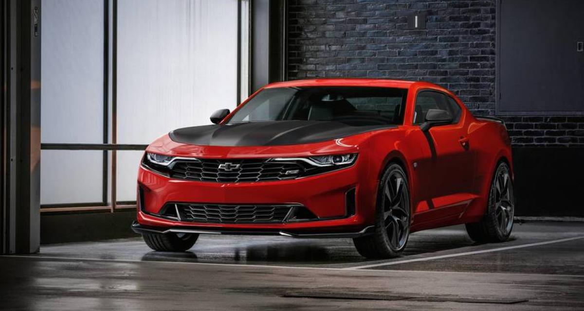 chevrolet camaro 2019 photos et fiche technique. Black Bedroom Furniture Sets. Home Design Ideas