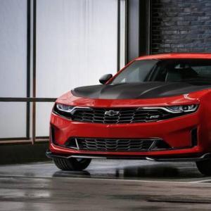 Chevrolet Camaro restylée : métamorphose pour la muscle car