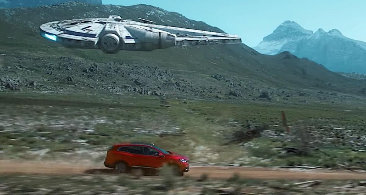 Une pub spéciale Han Solo pour le Renault Kadjar