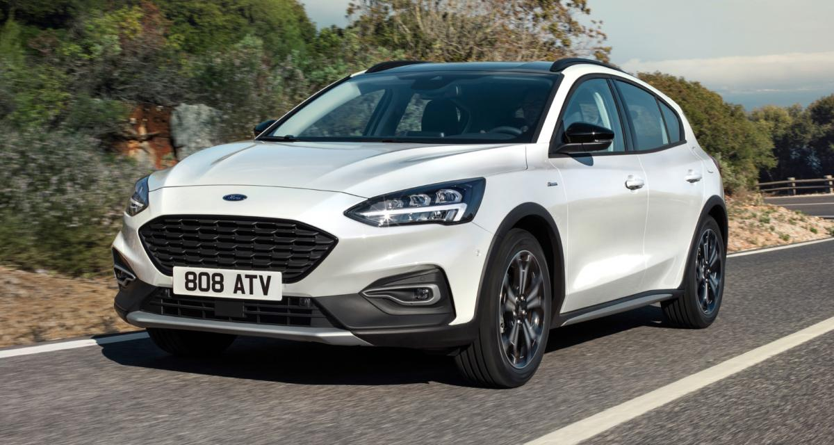 La Ford Focus Active 2018 en images