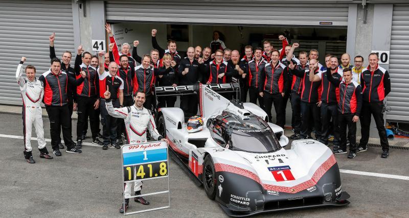 Trophées et records / Porsche 919 Hybrid Evo : record du tour à Francorchamps