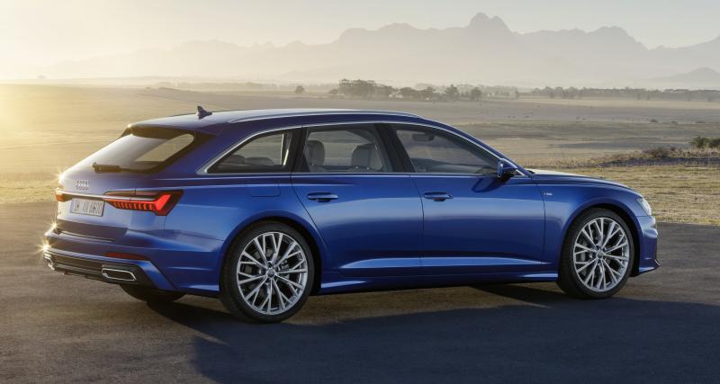 Audi A6 Avant: plus agile