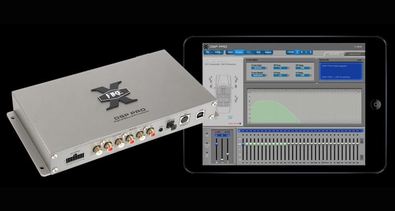 Xfire Audio commercialise un DSP paramétrable par une tablette tactile ou par un Smartphone