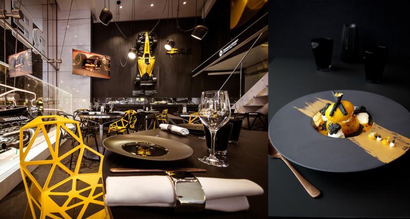 Idée cadeau: un repas sur le thème de la Formule 1