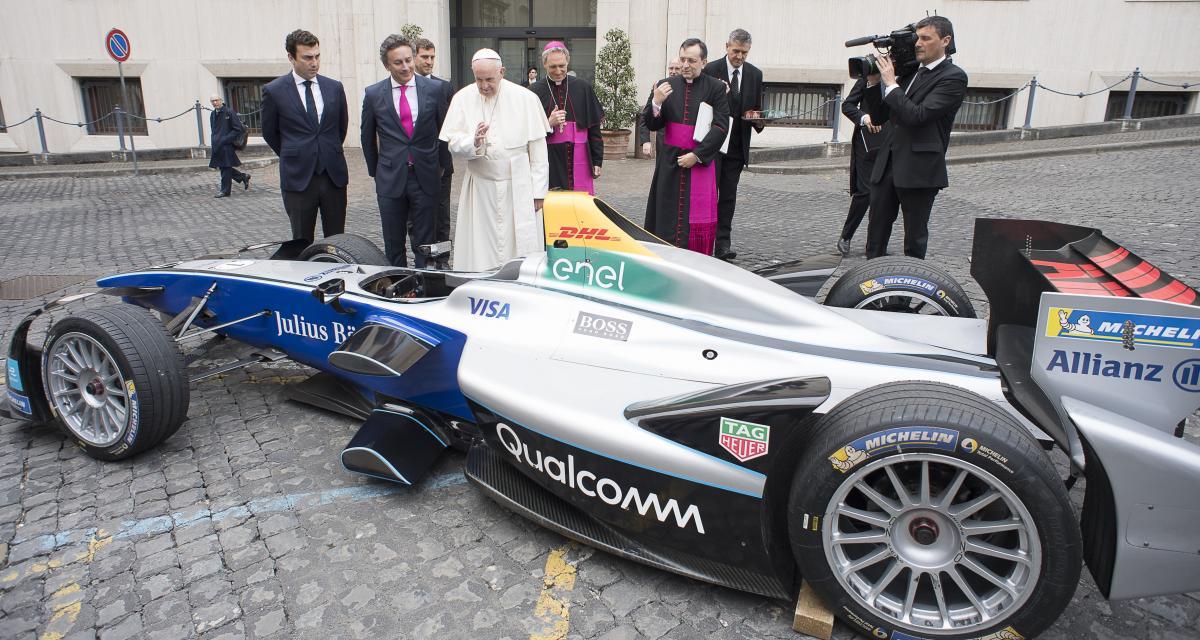 La Formule E bénie par le pape