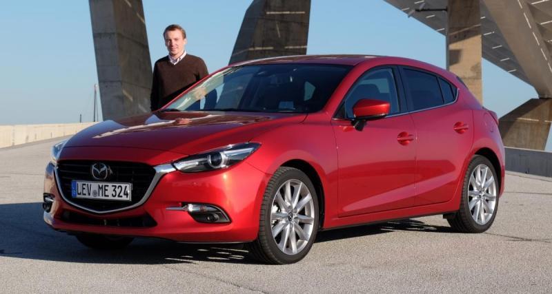 Mazda3 restylée