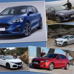 Ford Focus 4 : les concurrentes à l'essai