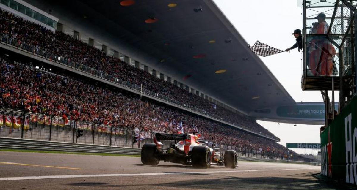 F1 - GP de Chine : victoire inespérée pour Ricciardo