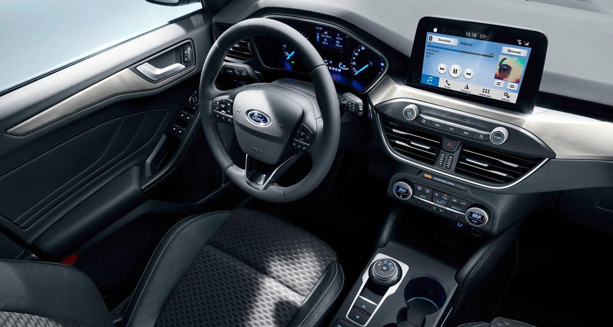 La nouvelle Ford Focus sera équipée d'un système Sync 3 avec CarPlay et Android Auto