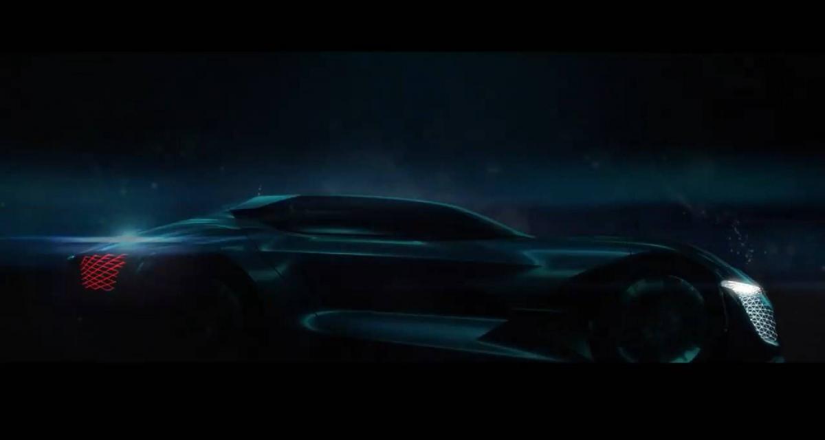DS X E-Tense : nouvelle vidéo pour le concept super sportif