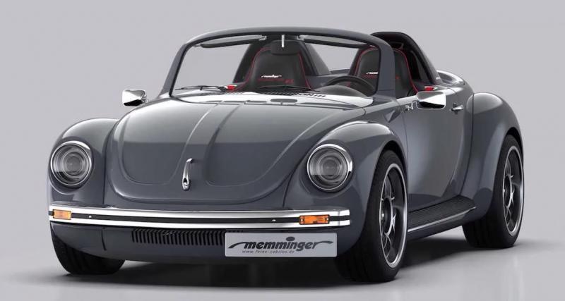 Memminger Roadster 2.7: un hommage original à la Coccinelle