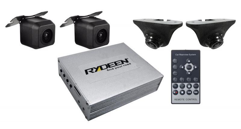 Rydeen dévoile un système DVR à 4 caméras pour manœuvrer en toute sécurité