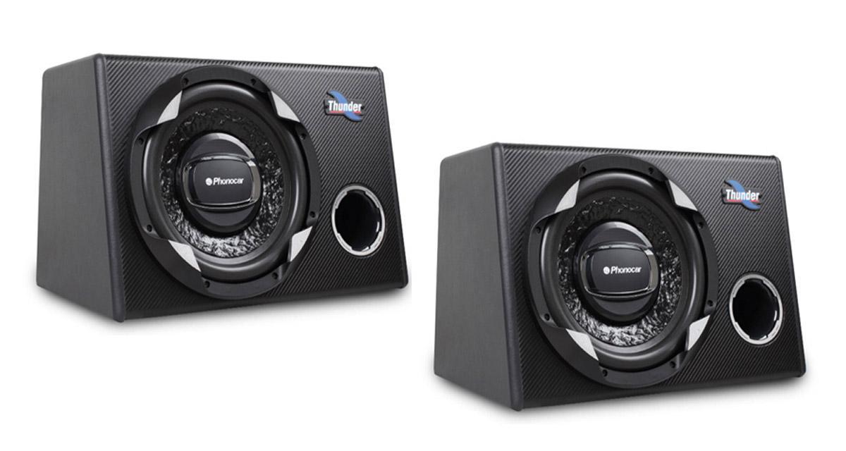Phonocar étoffe sa gamme Thunder avec deux nouveaux caissons de grave