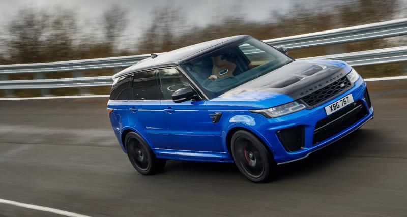 Range Rover Sport SVR MY18: bonheur indécent