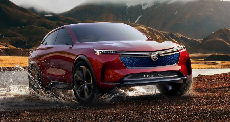 Buick Enspire Concept : le SUV électrique sportif inattendu