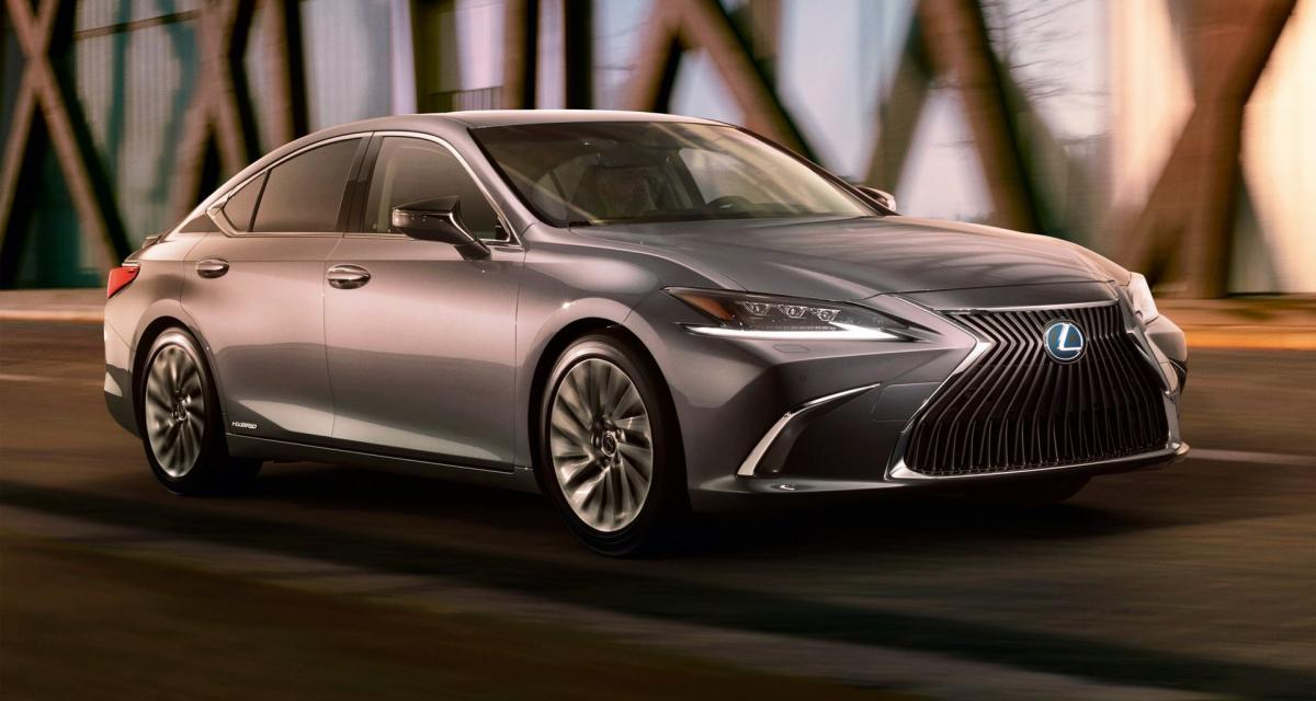 Nouvelle Lexus ES : bientôt en Europe pour remplacer la GS ?