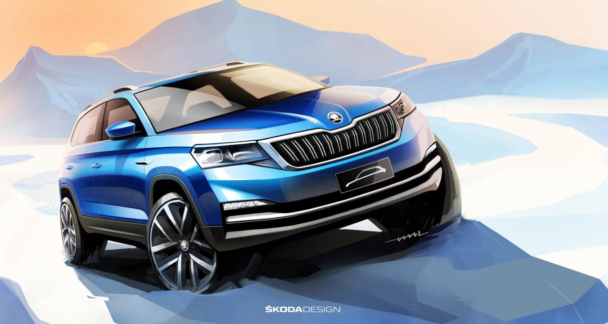 Skoda prépare un mini-SUV pour le salon de Pékin