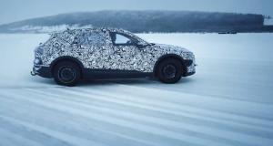L'Audi Q6 e-tron s'adonne au drift sur glace