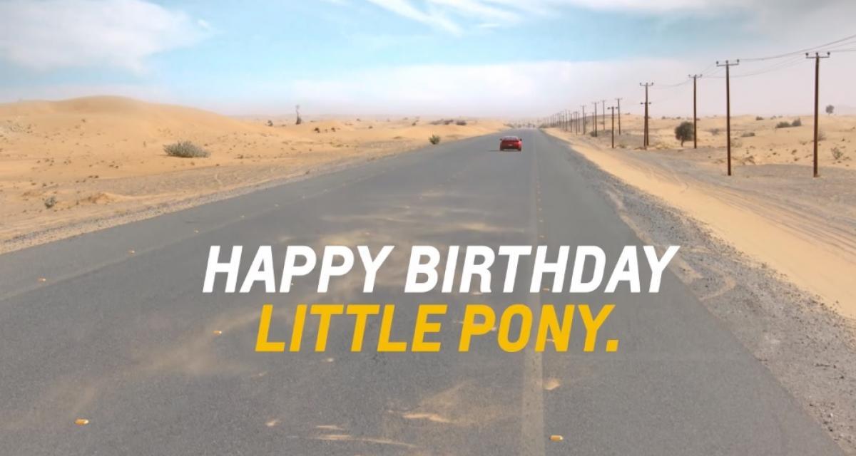 """Ford Mustang : Chevrolet souhaite un bon anniversaire au ''petit """"poney''"""