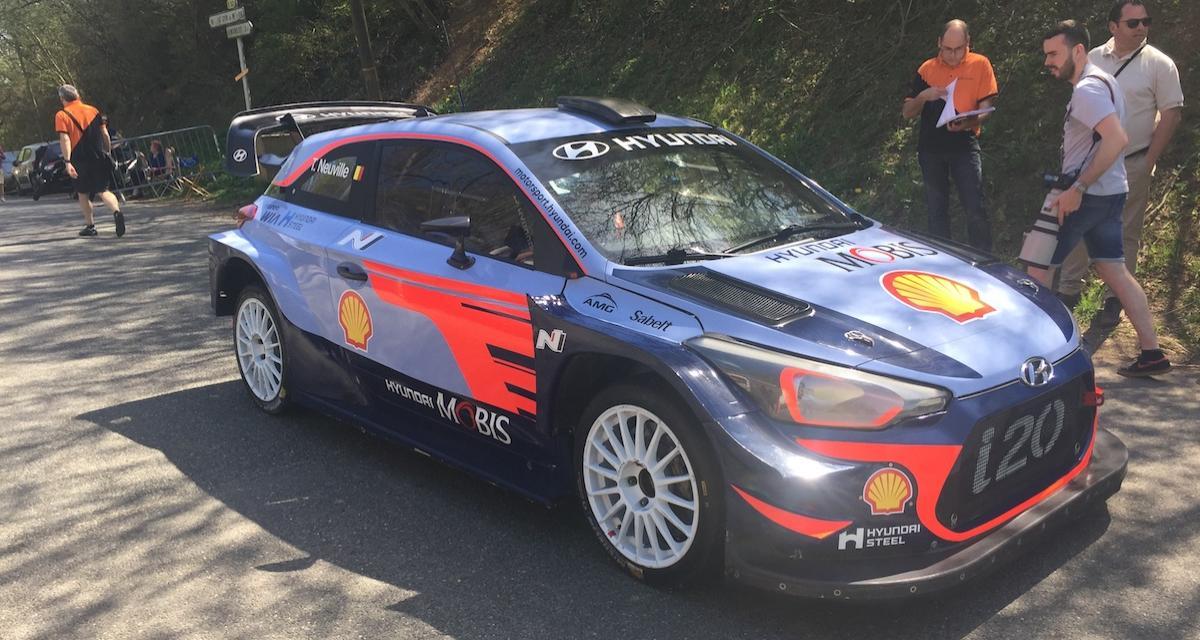 Rallye WRC: «J'ai été copilote de Thierry Neuville»