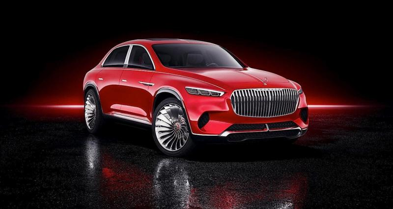 Mercedes-Maybach Ultimate Luxury Concept : l'opulence incarnée