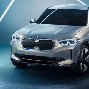 BMW iX3 Concept : le X3 passe au câble