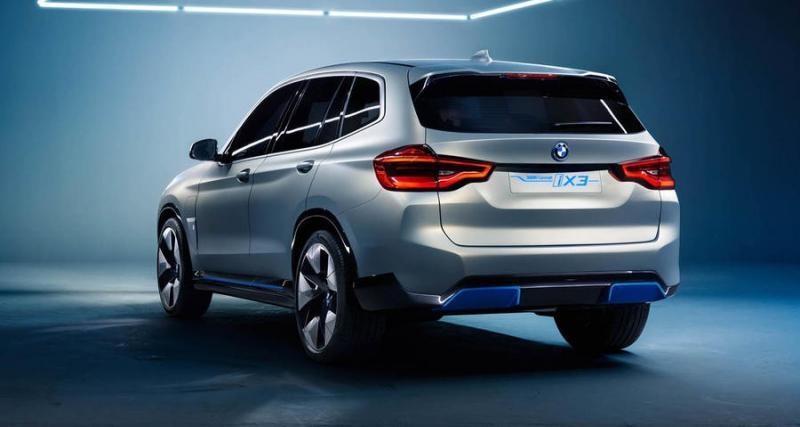 Prototypes et concepts / VIDÉO - BMW iX3 concept : 400 km d'autonomie promis