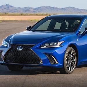 Lexus ES 2019 : du V6 et de l'hybride