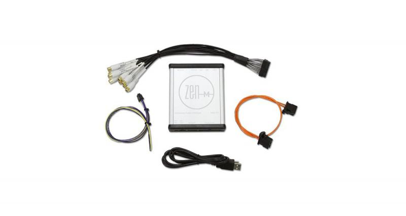 NAV-TV commercialise une interface audio pour réaliser une installation hi-fi sur les Mercedes ayant déjà un système audio sophistiqué