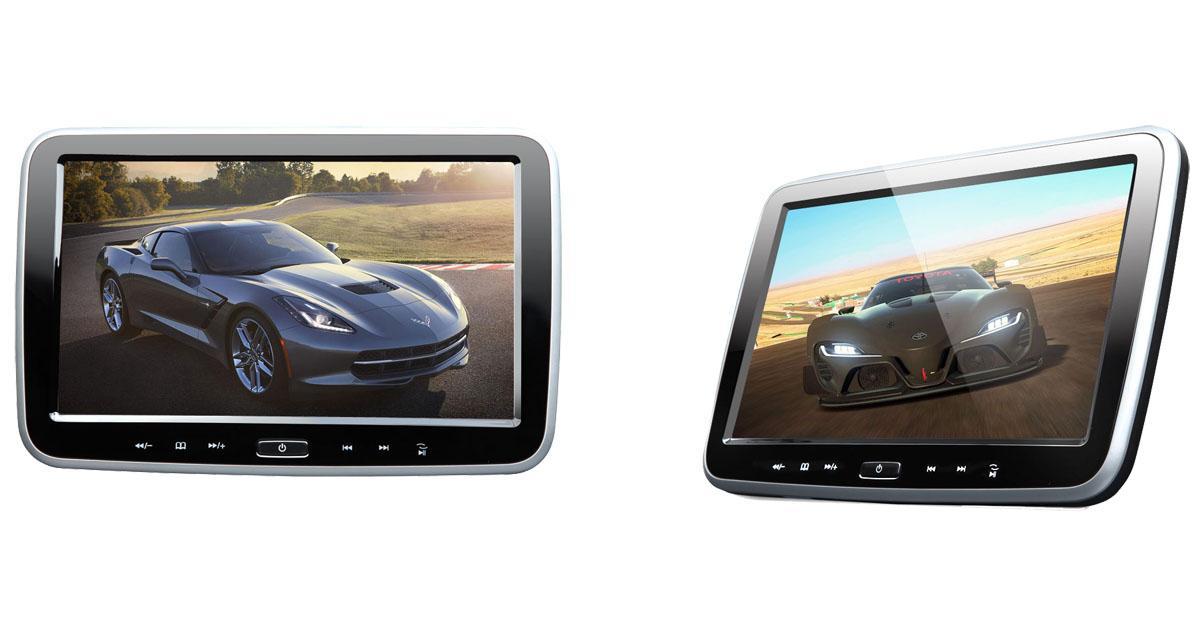 Un pack d'écrans vidéo Android pour les passagers arrière chez Eonon