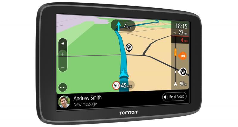 Tomtom dévoile une nouvelle gamme de GPS avec des fonctions connectées