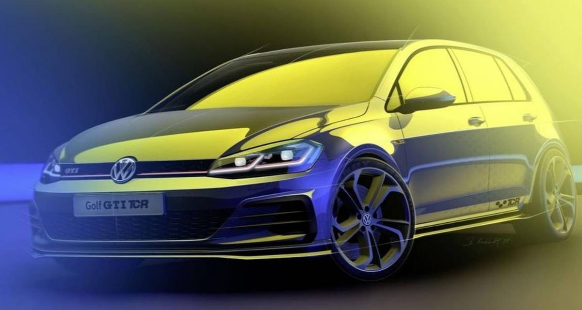 Volkswagen Golf GTI TCR : bientôt sur la route avec 290 ch