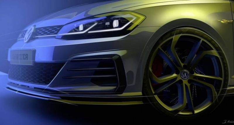 Volkswagen tease la Golf GTI TCR de route