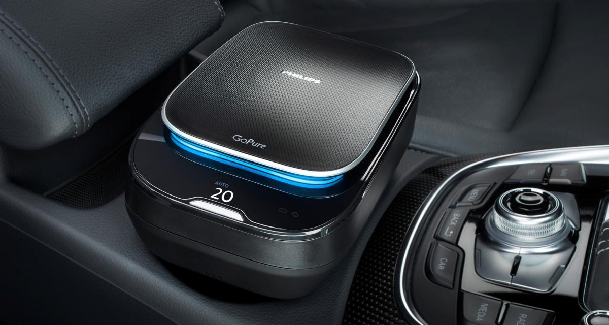 Philips Go Pure: filtre l'air à bord de votre voiture