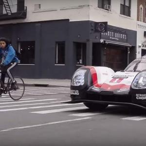 La Porsche 919 débarque à New York
