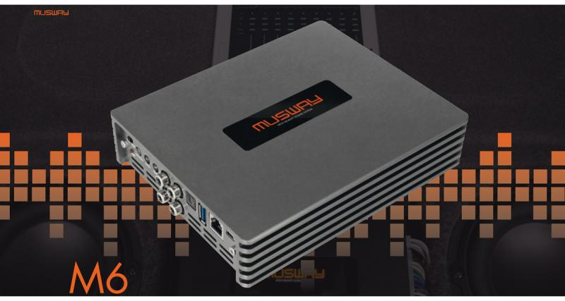 Les amplis DSP Musway sont distribués en Europe par Audio Design