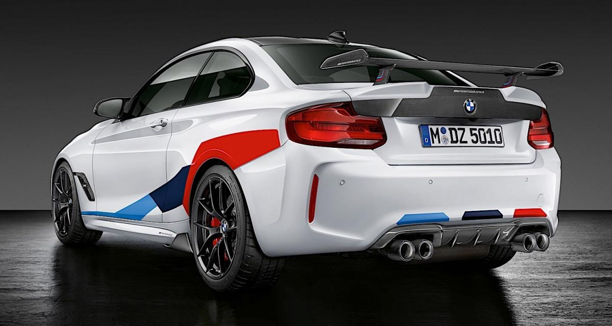 bmw m2 competition les pi ces m performance en photos. Black Bedroom Furniture Sets. Home Design Ideas