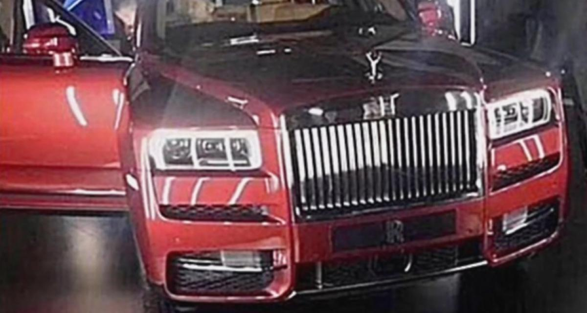 Rolls-Royce Cullinan : 1ère image sans camouflage