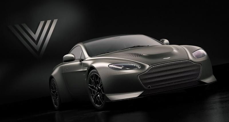 Aston Martin V12 Vantage V600 : la pin-up fait de la résistance