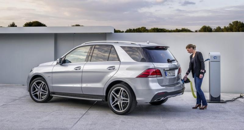 Mercedes GLE 500 e 4Matic