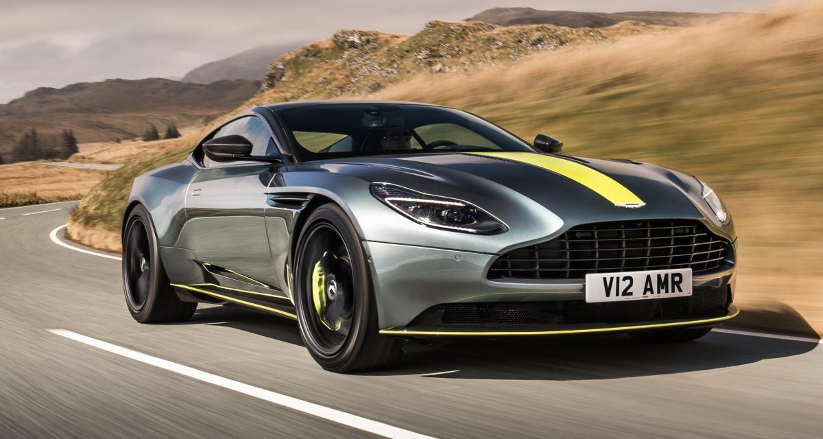 aston martin db11 amr tarif equipement motorisation photo. Black Bedroom Furniture Sets. Home Design Ideas