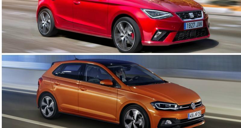 Déjà un rappel pour les Volkswagen Polo et Seat Ibiza