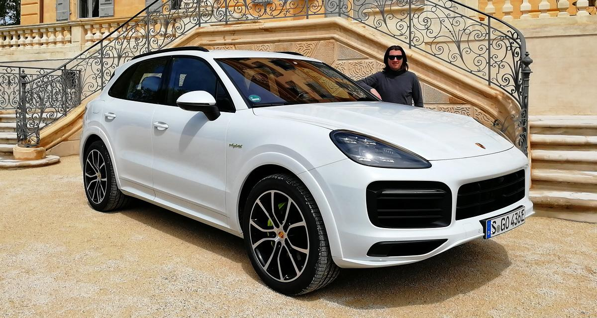 porsche cayenne e hybrid essai complet et avis. Black Bedroom Furniture Sets. Home Design Ideas