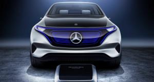 Des Mercedes EQ électriques seront produites en France