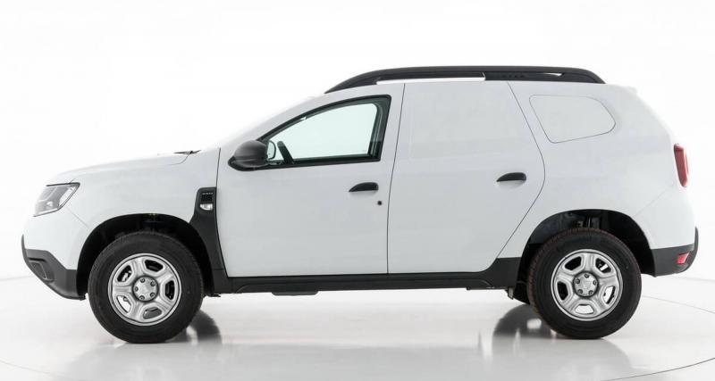 Le Dacia Duster en mode utilitaire