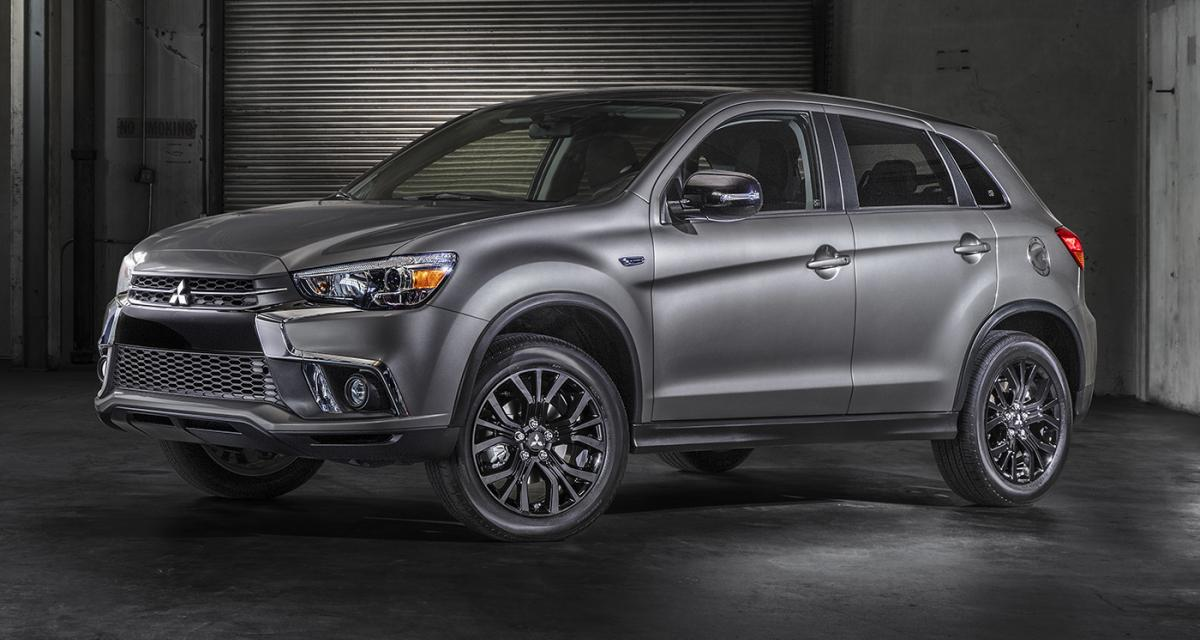 Mitsubishi ASX et Outlander ''BLACK Collection'' : smoking sur mesure