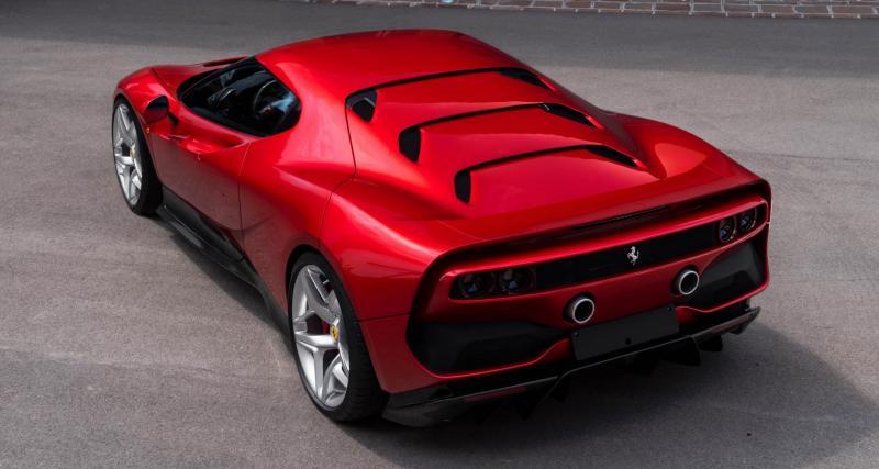 Ferrari SP38 : Un seul exemplaire !