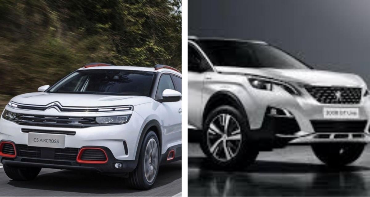 Citroën C5 Aircross vs Peugeot 3008 : duel de style