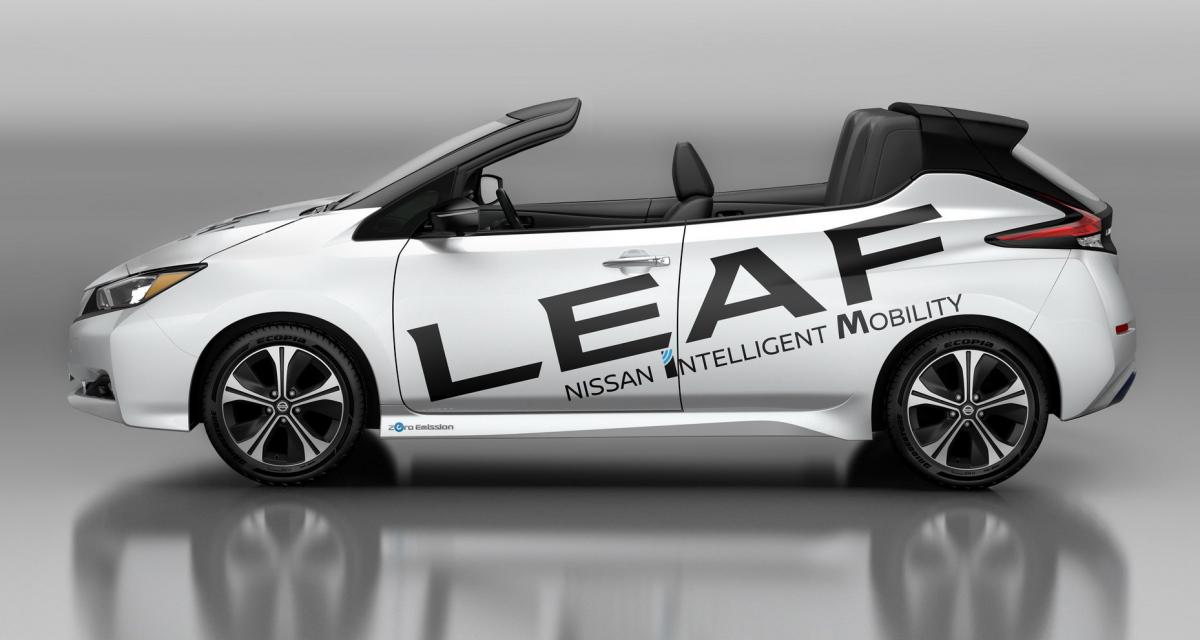 Nissan Leaf : un ''cabriolet'' pour rêver